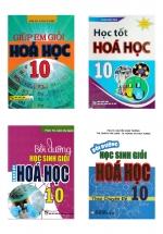 Combo Giúp Em Giỏi Hóa Học + Học Tốt Hóa Học + Bồi Dưỡng Học Sinh Giỏi Hóa Học Lớp 10 (Bộ 4 Cuốn)