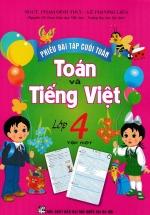 Phiếu Bài Tập Cuối Tuần Toán-Tiếng Việt Lớp 4 Tập 1