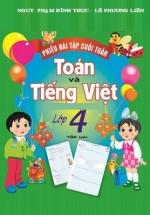 Phiếu Bài Tập Cuối Tuần Toán-Tiếng Việt Lớp 4 Tập 2