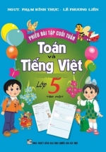 Phiếu Bài Tập Cuối Tuần Toán-Tiếng Việt Lớp 5 Tập 1