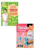 Combo Chuẩn Bị Cho Một Thai Kì Khỏe Mạnh Và Chào Đón Bé Yêu + Thai Giáo Theo Chuyên Gia - 280 Ngày - Mỗi Ngày Đọc Một Trang