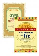 Combo Nuôi Dạy Con Theo Phương Pháp Montessori (Bộ 2 Cuốn)