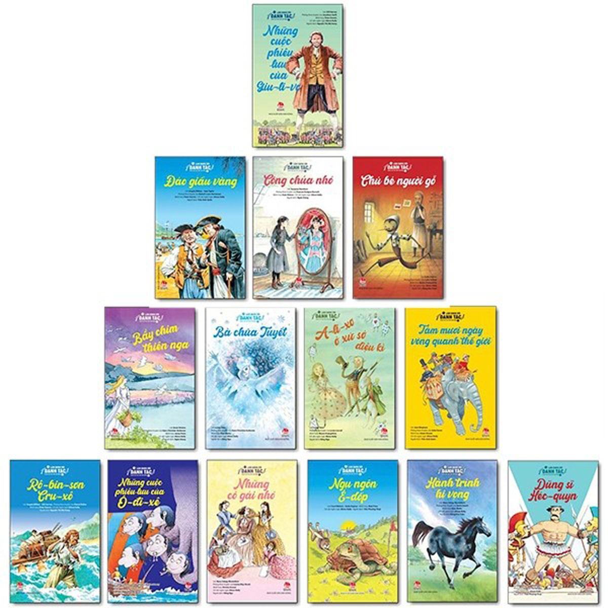 Combo Sách Làm Quen Với Danh Tác - Dành Cho Lứa Tuổi Nhi Đồng (Bộ 14 Cuốn)