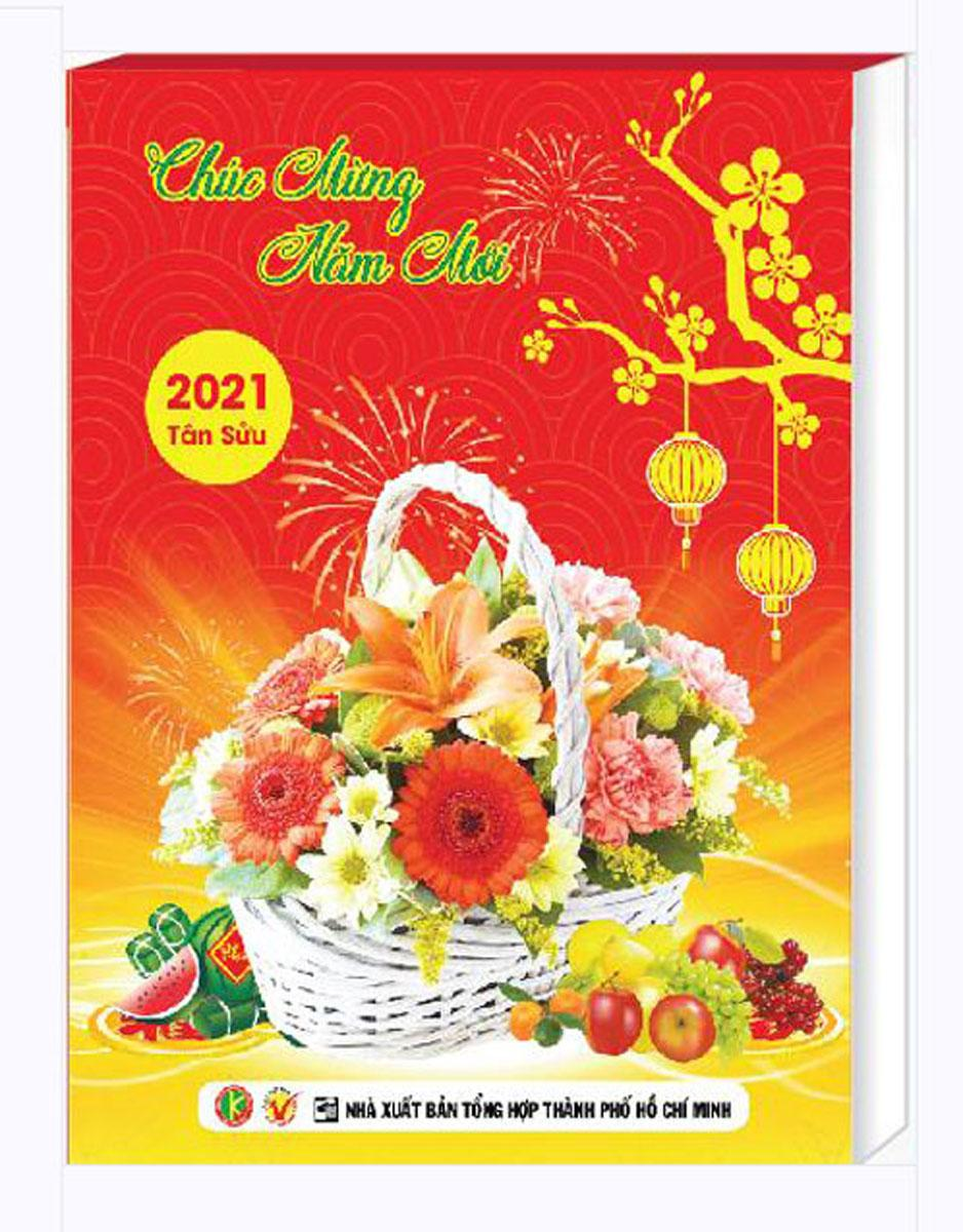 Lịch Bloc Trung Màu Poluya 2021 (10,5x14,5 Cm) - NS23