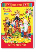 Lịch Bloc Đại 2021 (14,5x20,5cm) - Phúc Lộc Thọ - HT15