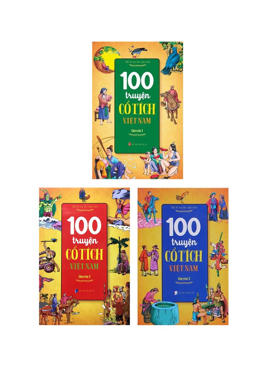 Combo 100 Truyện Cổ Tích Việt Nam (Bộ 3 Cuốn)