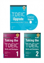 Combo Taking The TOEIC + Toeic Upgrade (Bộ 3 Cuốn)