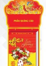 Lịch Bloc Siêu Đại 2021 (25x35 cm) - Sắc Hương - NS15