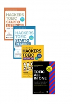 Combo Hackers Toeic (Bộ 4 Cuốn)
