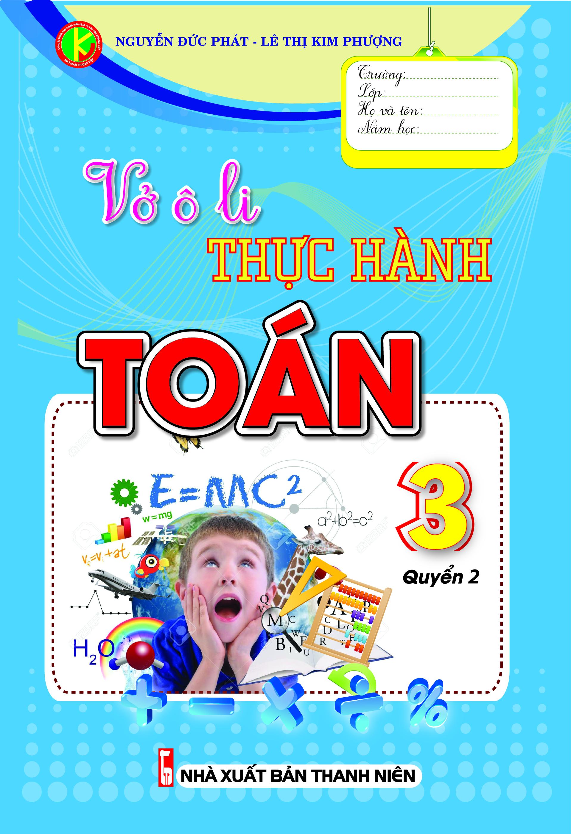 Vở Ô Li Thực Hành Toán 3 Tập 2 - EBOOK/PDF/PRC/EPUB