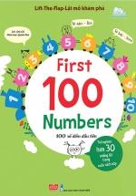 Lift-The-Flap - Lật Mở Khám Phá - First 100 Numbers - 100 Số Đếm Đầu Tiên