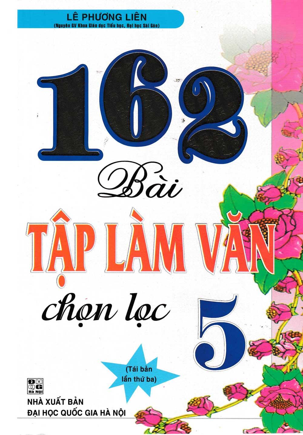 162 Bài Tập Làm Văn Chọn Lọc 5 - EBOOK/PDF/PRC/EPUB