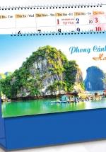 Lịch Để Bàn Chữ A 2021 (25x12 Cm) Không Note - Phong Cảnh Việt Nam - NS35