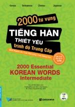 2000 Từ Vựng Tiếng Hàn Thiết Yếu Trình Độ Trung Cấp