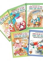 Combo Những Bài Học An Toàn Cùng Gấu Mila - Giáo Dục Hành Vi Tốt Cho Trẻ (Bộ 5 Cuốn)