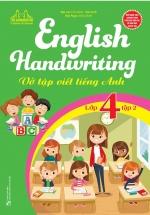 English Handwriting - Vở Tập Viết Tiếng Anh Lớp 4 Tập 2