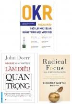 Combo Sách OKR (Bộ 3 Cuốn)