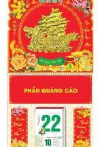 Bìa Treo Lịch Lò Xo Giữa Bế Nổi (37 x 68 Cm) Gắn Bloc Lịch 2021 - Thuận Buồm Xuôi Gió - KV192