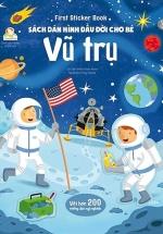 First Sticker Book - Sách Dán Hình Đầu Đời Cho Bé - Vũ Trụ