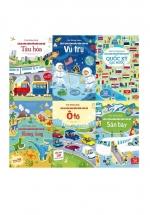 Combo First Sticker Book - Sách Dán Hình Đầu Đời Cho Bé (Bộ 6 Cuốn)