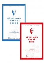 Combo Hồ Chí Bàn Về Cán Bộ + Bàn Về Đảng (Bộ 2 Cuốn)