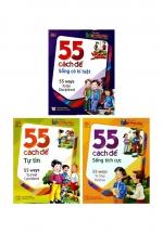 Combo 55 Cách Để Sống Có Kỷ Luật + 55 Cách Để Sống Tích Cực + 55 Cách Để Tự Tin (Bộ 3 Cuốn)