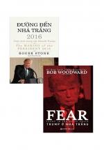 Combo Đường Đến Nhà Trắng + Trump Ở Nhà Trắng (Bộ 2 Cuốn)