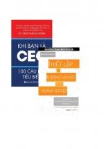 Combo Thiết Lập Internet Vạn Vật Trong Doanh Nghiệp + Khi Bạn Là CEO – 100 Câu Hỏi Tiêu Biểu (Bộ 2 Cuốn)