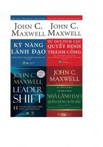 Combo John C. Maxwell: Kỹ Năng Lãnh Đạo + Tư Duy Tích Cực Quyết Định Thành Công + 11 Nguyên Tắc Phát Triển Năng Lực Lãnh Đạo + Để Trở Thành Nhà Lãnh Đạo Quần Chúng Xuất Sắc (Bộ 4 Cuốn)