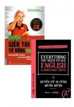 Combo Sách Luyện Siêu Trí Nhớ Từ Vựng Tiếng Anh + Everything You Need To Ace English Language Arts - Quyển Vở Ai Cũng Muốn Mượn