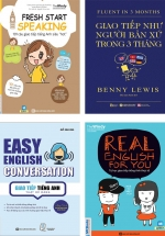 Combo Sách Học Giao Tiếp Tiếng Anh Như Người Bản Ngữ