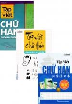 Combo Sách Tập Viết Chữ Hán