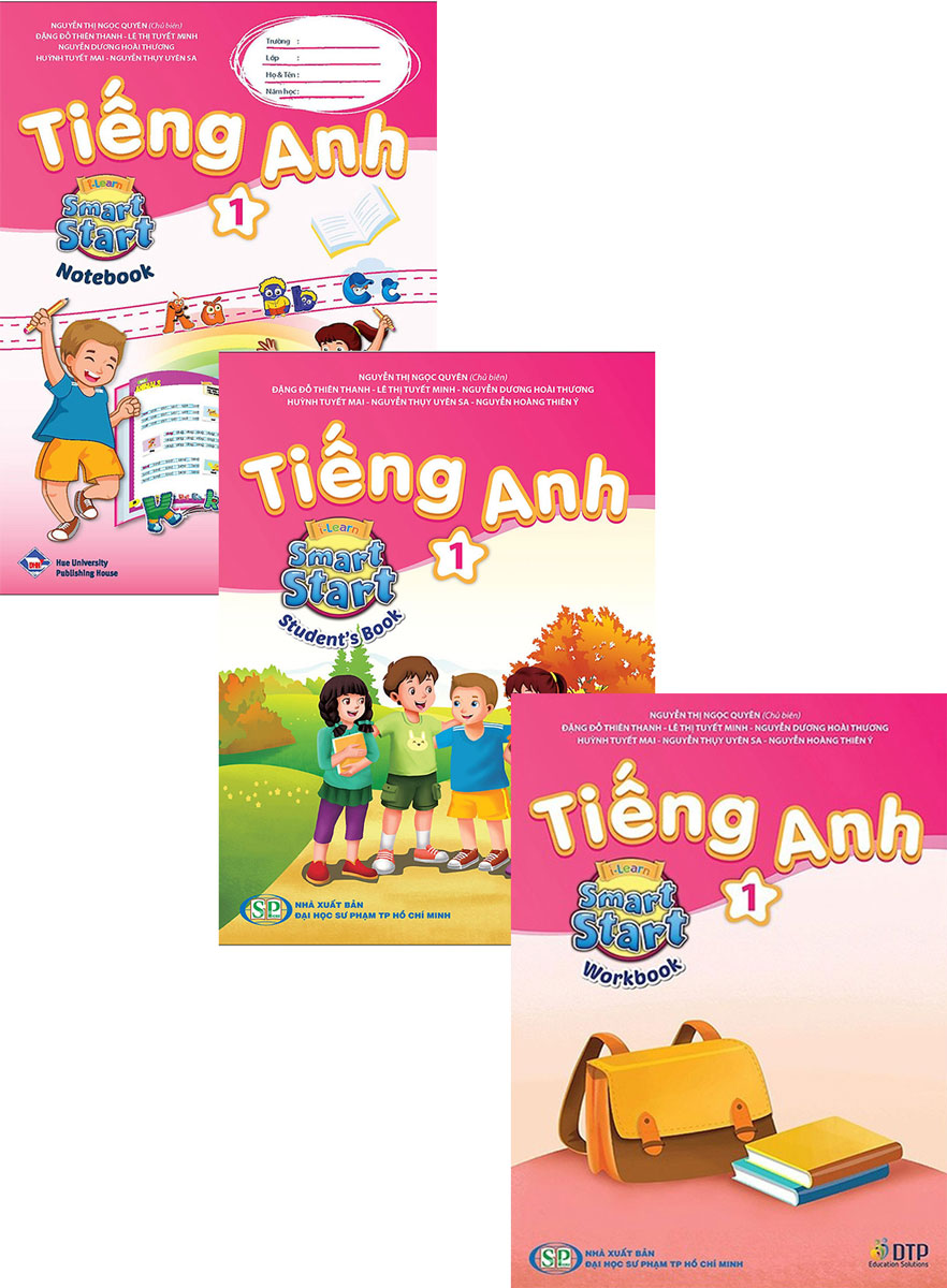 Combo Tiếng Anh I-Learn Smart Start Level 01