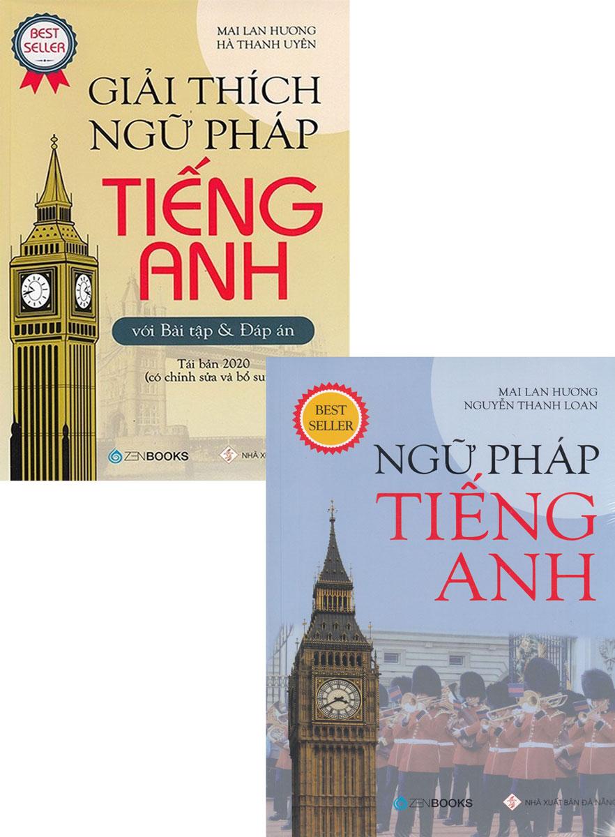 Combo Sách Ngữ Pháp Tiếng Anh Mai Lan Hương (Bộ 2 Cuốn)
