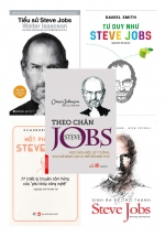 Bộ Sách Hay Về Steve Jobs: Tiểu Sử Steve Jobs + Tư Duy Như Steve Jobs + Một Phút Với Steve Jobs + Sinh ra để trở thành Steve Jobs + Theo Chân Steve Jobs (5 Cuốn)