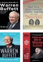 Bộ Sách Hay Về Warren Buffett: Những Bài Học Đầu Tư Từ Warren Buffett + Phương Pháp Đầu Tư Warren Buffett + Bí Quyết Đầu Tư Và Kinh Doanh Chứng Khoán Của Tỷ Phú Warren Buffett Và George Soros + 7 Phương Pháp Đầu Tư Warren Buffet (4 Cuốn)
