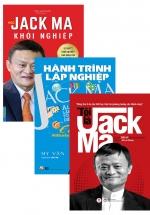 Bộ Sách Hay Về Jack Ma: Tôi Là Jack Ma + Hành Trình Lập Nghiệp - Jack Ma + Học Jack Ma Khởi Nghiệp (Bộ 3 Cuốn)