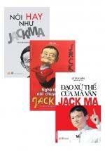 Bộ Sách Hay Về Jack Ma: Nói Hay Như Jack Ma + Nghệ Thuật Nói Chuyện Của Jack Ma + Đạo Xử Thế Của Mã Vân Jack Ma (Bộ 3 Cuốn)