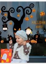 Decal Dán Tường Halloween 3