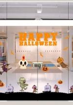 Decal Trang Trí Halloween Rùng Rợn Combo 11