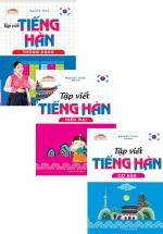 Combo Sách Tập Viết Tiếng Hàn
