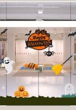 Decal Trang Trí Halloween Rùng Rợn Combo 7
