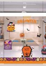 Decal Trang Trí Halloween Rùng Rợn Combo 4