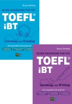 Combo Sách Score Maximizing For The TOEFL iBT