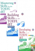 Combo Sách Building, Developing & Mastering Skills For The TOEFL IBT