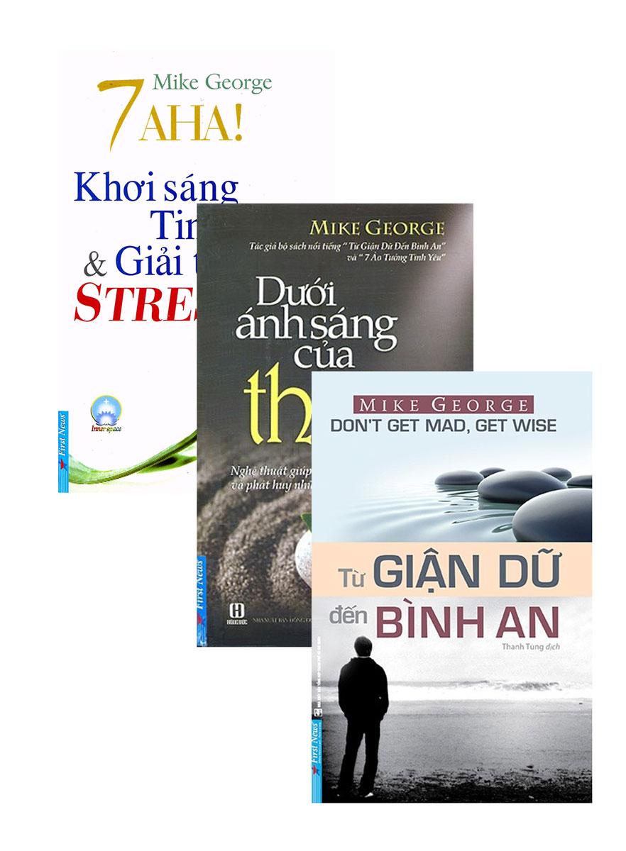 Combo 7 Aha! Khơi Sáng Tinh Thần Và Giải Tỏa Stress + Dưới Ánh Sáng Của Thiền + Từ Giận Dữ Đến Bình An (Bộ 3 Cuốn)