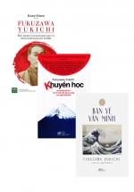 Bộ Sách Hay Vê Fukuzawa Yukichi: Bàn Về Văn Minh + Khuyến Học + Fukuzawa Yukichi: Sức Mạnh Của Cải Cách Giáo Dục Và Hoạch Định Doanh Nghiệp (Bộ 3 Cuốn)