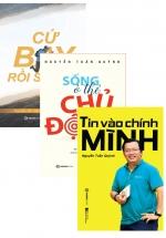 Bộ Sách Hay Của Tác Giả Nguyễn Tuấn Quỳnh: Tin Vào Chính Mình + Cứ Bay Rồi Sẽ Cao + Sống Ở Thể Chủ Động (Bộ 3 Cuốn)