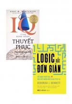 Combo Logic Rất Đơn Giản + IQ Trong Nghệ Thuật Thuyết Phục (Bộ 2 Cuốn)