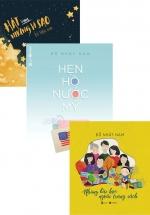 Combo Sách Của Nguyễn Nhật Nam: Hẹn Hò Nước Mỹ + Những Bài Học Ngoài Trang Sách + Hát Cùng Những Vì Sao (Bộ 3 Cuốn)